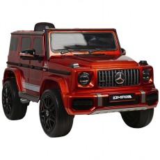 Детский электромобиль Mercedes-Benz G63 (K999KK)-4 WD вишневый глянец