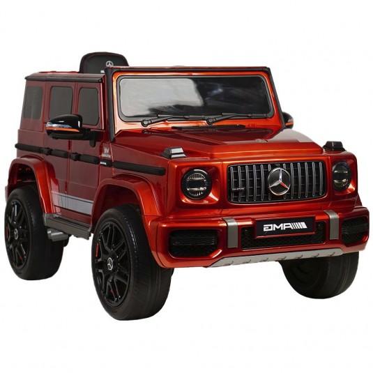 Детский электромобиль Mercedes-Benz G63 4WD (K999KK) вишневый глянец