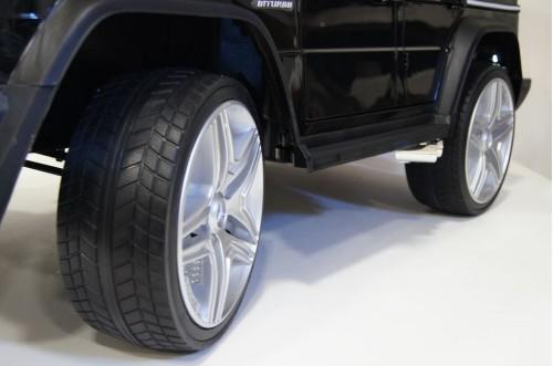 Детский электромобиль Мercedes-Benz AMG G65 4WD черный глянец