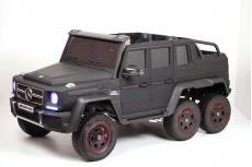 Детский электромобиль Мercedes-AMG G63 (X555XX) черный матовый