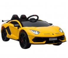 Детский электромобиль HL328 Lamborghini желтый