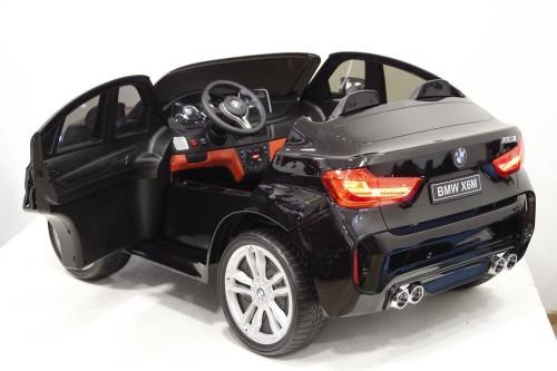 Детский электромобиль BMW X6M (JJ2168) черный глянец