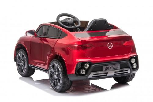 Детский электромобиль Mercedes-Benz GLC (K555KK) вишневый глянец