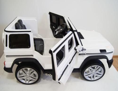 Детский электромобиль Мercedes-Benz AMG G65 белый