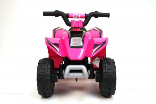 Детский электроквадроцикл H001HH розовый