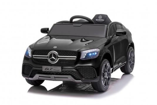 Детский электромобиль Mercedes-Benz GLC (K555KK) черный глянец