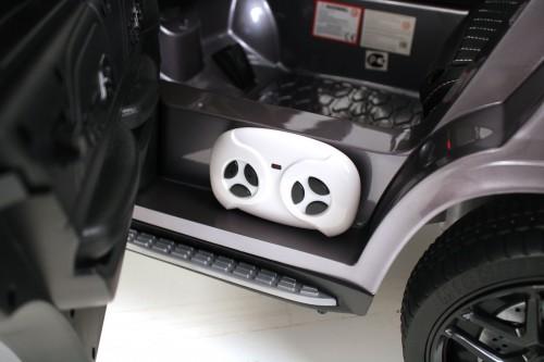 Детский электромобиль Mercedes-Benz GLE 53 (P333BP) серый глянец