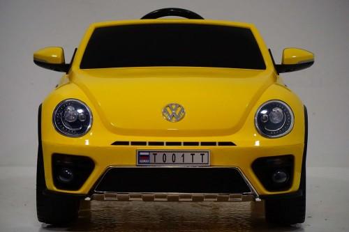 Детский электромобиль Volkswagen Juke (Т001ТТ) желтый