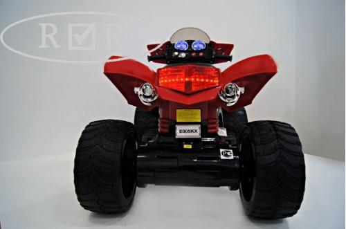 Детский электроквадроцикл Е005КХ красный