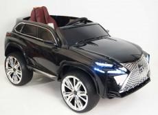 Детский электромобиль E111KX черный глянец