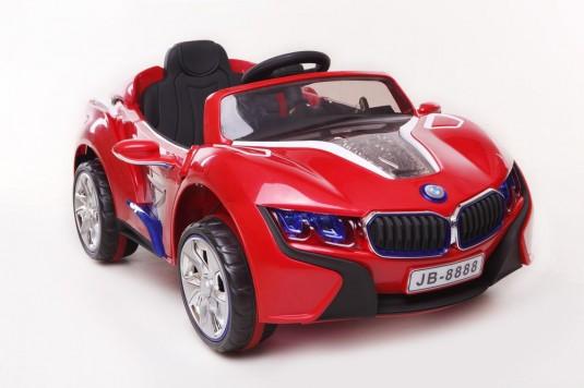 Детский электромобиль BMW E008KX красный