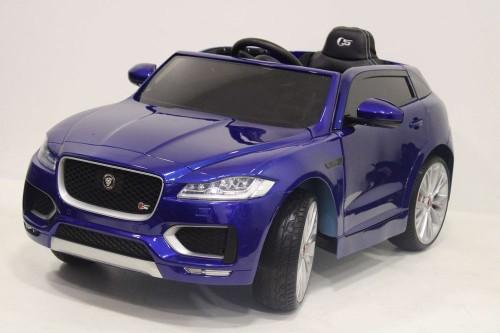Детский электромобиль Jaguar (LS-818) синий глянец