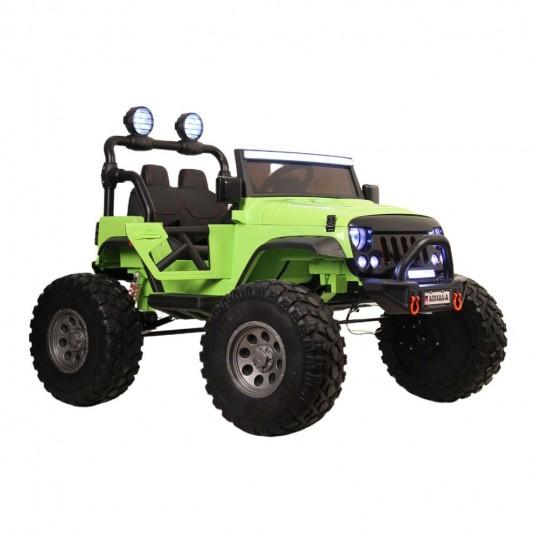 Детский электромобиль А004АА-А зеленый