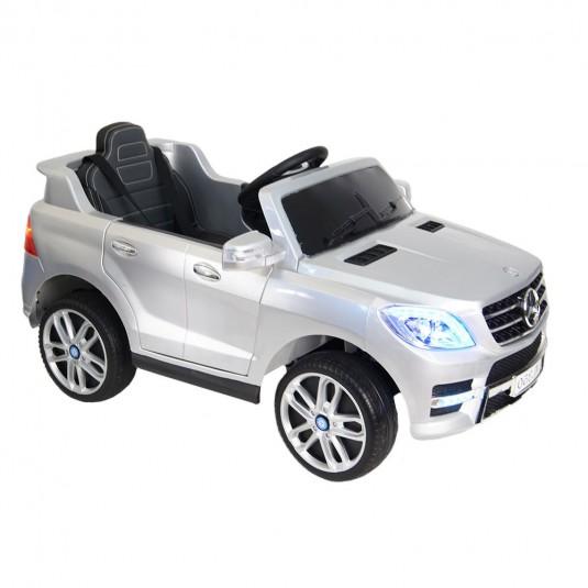 Детский электромобиль ML350 серебристый глянец