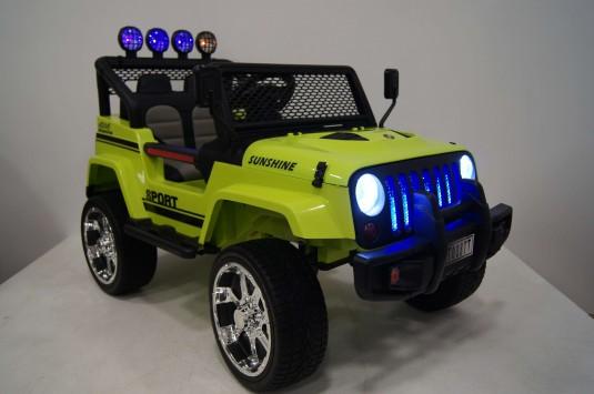 Детский электромобиль T008TT зеленый