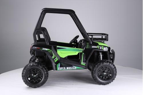 Детский электромобиль JS360 зеленый