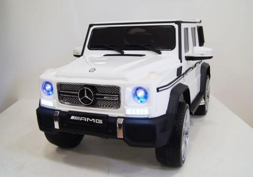 Детский электромобиль Мercedes-Benz G65 (4*4) белый