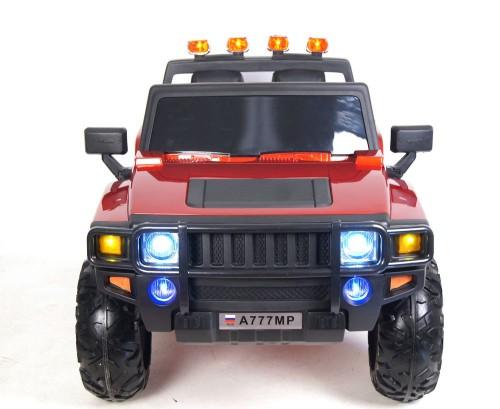 Детский электромобиль A777MP вишневый глянец