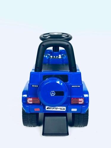 Детский толокар Mercedes JQ663 (G63) синий