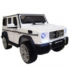 Детский электромобиль Мercedes-Benz G65 белый