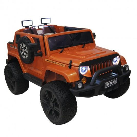 Детский электромобиль O999OO оранжевый