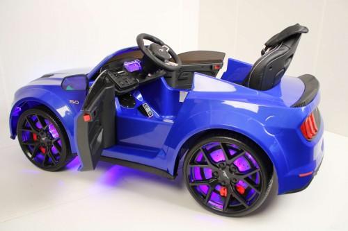 Детский электромобиль Ford Mustang GT (A222MP) синий