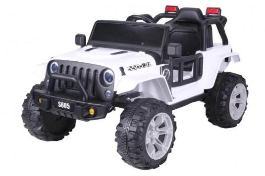 Детский электромобиль Т222ТТ белый