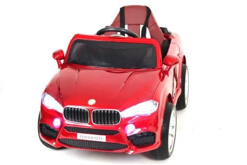 Детский электромобиль О006ОО Vip вишневый глянец