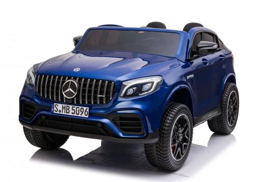 Детский электромобиль Mercedes-Benz GLC63 S 4WD (H111HH) синий глянец