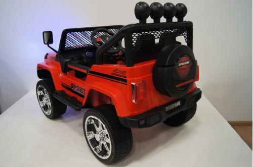 Детский электромобиль T008TT 4WD красный
