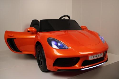 Детский электромобиль T911TT оранжевый глянец