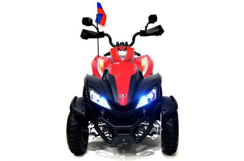 Детский электроквадроцикл Р333РР красный