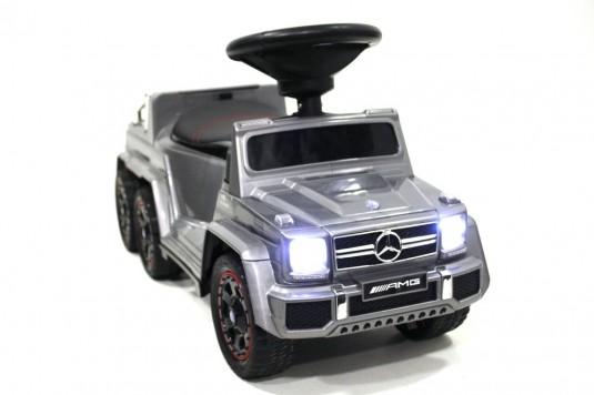 Детский толокар Mercedes А010АА-D серый