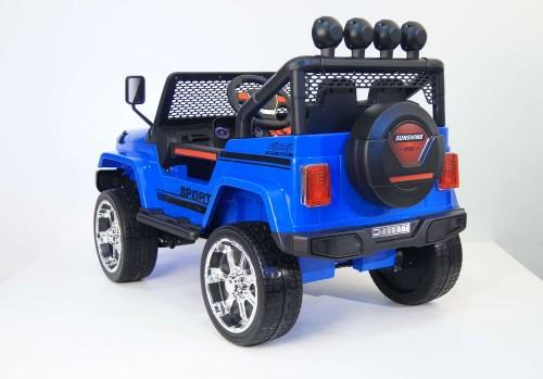 Детский электромобиль T008TT (4х4)  синий