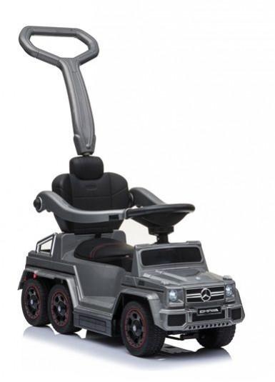 Детский толокар Mercedes А010АА-М серый