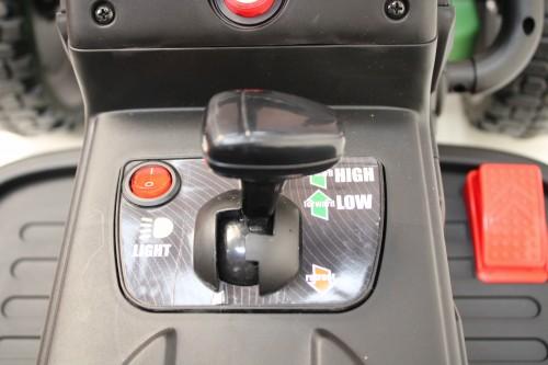 Детский электромобиль H888HH темно-зеленый