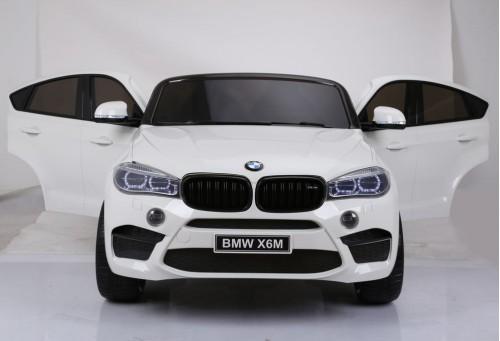 Детский электромобиль BMW X6M (JJ2168) белый