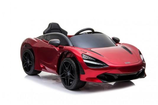 Детский электромобиль McLaren 720S красный глянец
