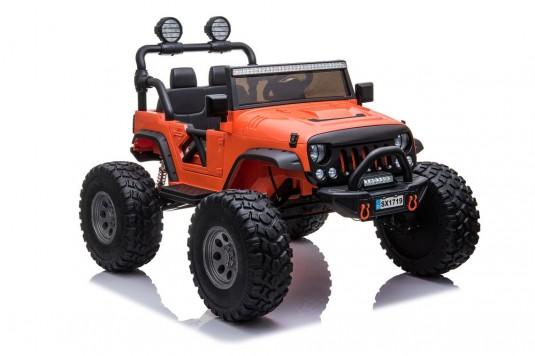 Детский электромобиль А004АА-А оранжевый