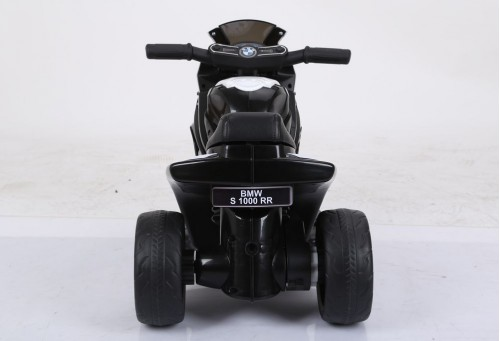 Детский электромотоцикл JT5188 черный (кожа)