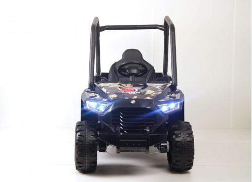 Детский электромобиль T333TT коричневый камуфляж