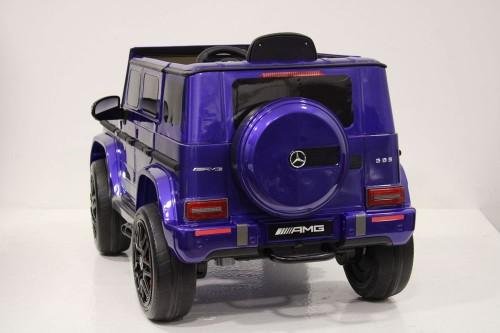 Детский электромобиль Mercedes-Benz G63 (K999KK)-4 WD синий глянец
