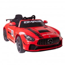 Детский электромобиль Mercedes-Benz A007AA красный