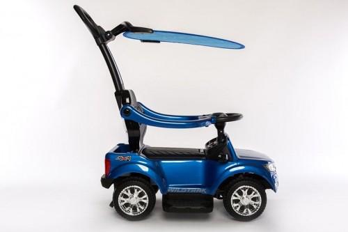Детский толокар Ford Ranger (DK-P01-P) синий с ручкой
