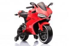 Детский электромотоцикл А001АА красный