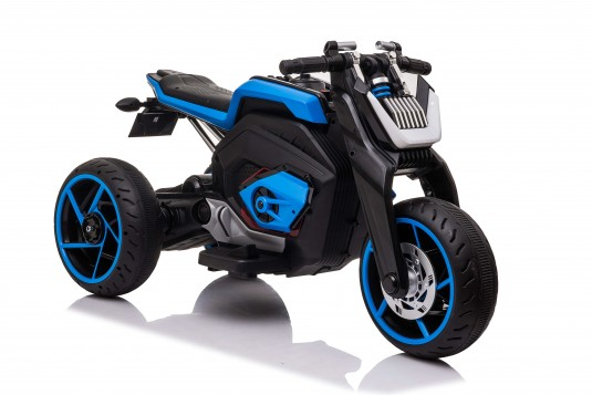 Детский трицикл X222XX синий
