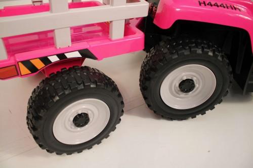 Детский электромобиль H444HH розовый
