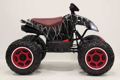 Детский электроквадроцикл T777TT черный-spider