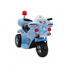 Детский электромотоцикл 998 синий