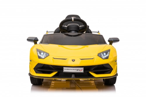 Детский электромобиль Lamborghini Aventador SVJ (A333MP) желтый